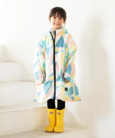 SLEEVE RAIN PONCHO FOR KIDS