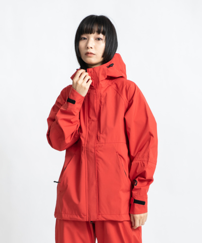 2WAY STRETCH RAIN JACKET -MIGHTY-