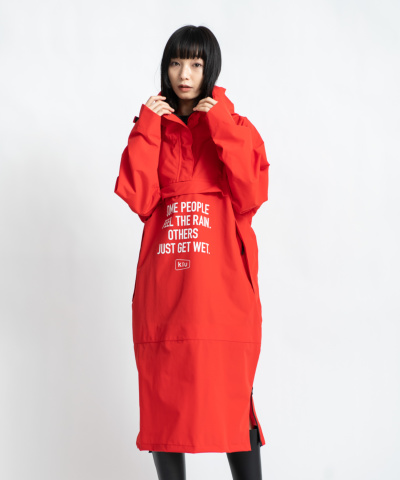 ANORAK LONG RAIN PARKA SIDE ZIP