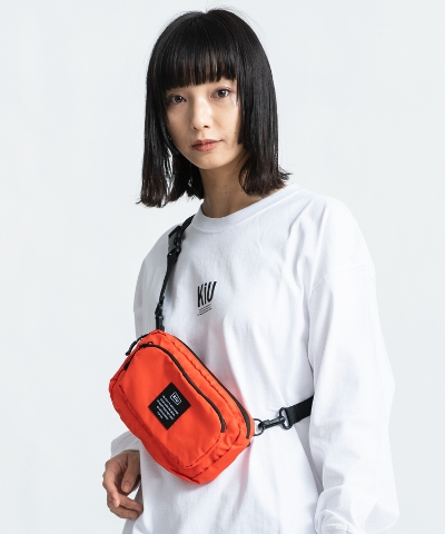 300D FRONT POCKET MINI SHOULDER BAG